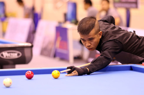 Quyet Chien bows out of three-Cushion Carom Billiards World Cup