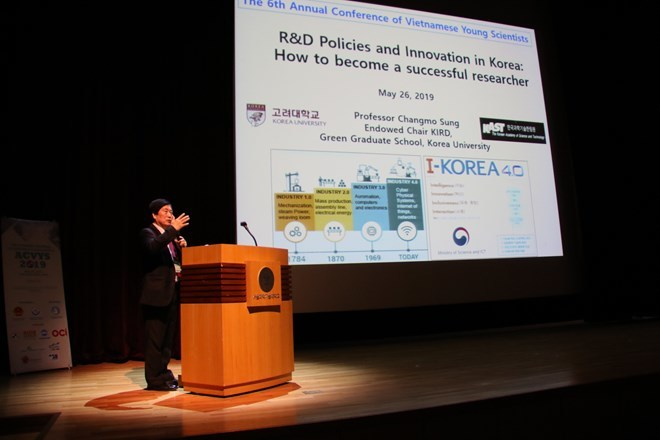 Vietnamese students in RoK intensify scientific research