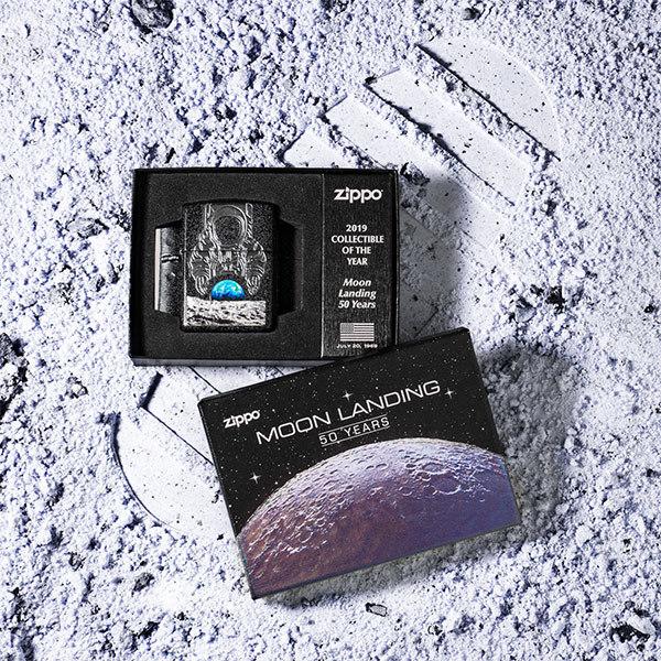 Độc đáo bộ sưu tập Zippo kỷ niệm 50 năm con người đặt chân lên Mặt Trăng