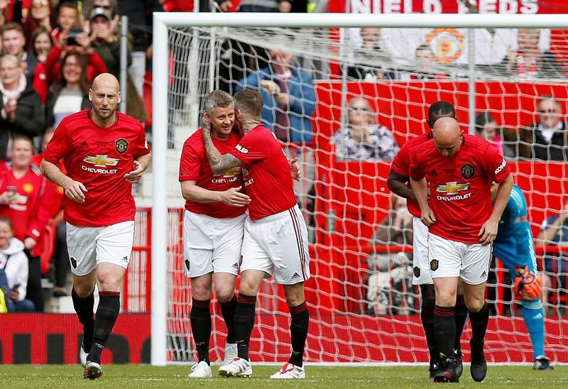 MU,David Beckham,Solskjaer,Sir Alex