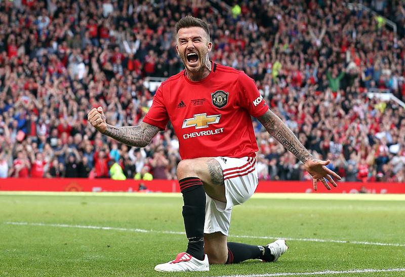 Chiêm ngưỡng pha ghi bàn tuyệt đỉnh của Beckham ở tuổi 44