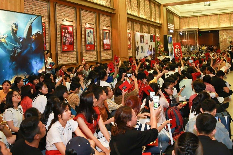Sự kiện thu hút đông đảo người hâm mộ.