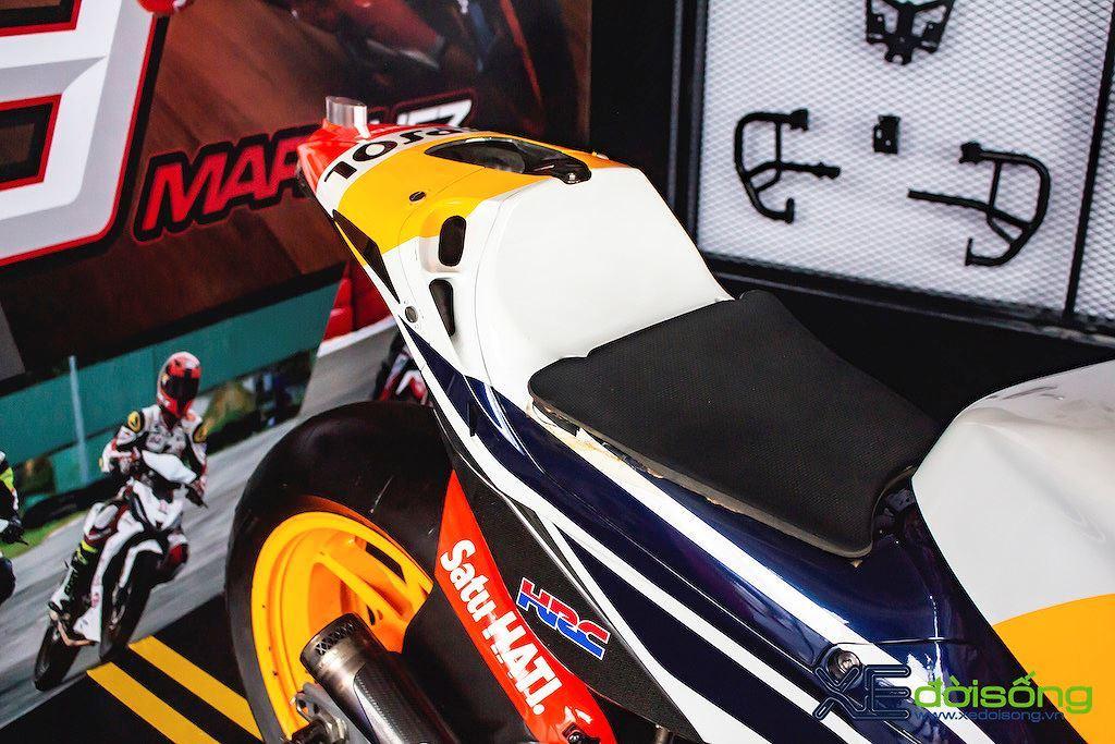 Bí mật chiếc mô tô giá 2 triệu USD của Marc Marquez tại Hà Nội