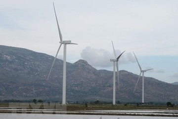 Ninh Thuan builds more solar, wind projects