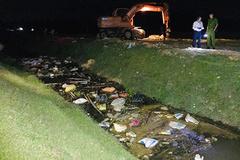 Hà Tĩnh: Hàng chục xác lợn nhiễm dịch tả châu Phi nổi phềnh trên kênh