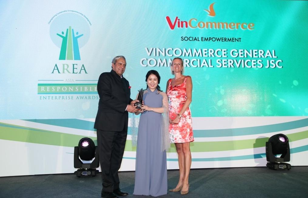 VinCommerce nhận giải Doanh nghiệp Trách nhiệm châu Á