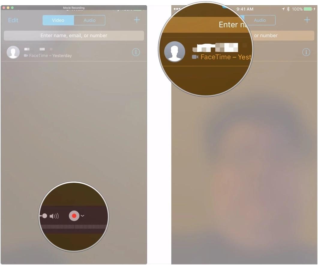Cách ghi lại âm thanh và hình ảnh từ cuộc gọi FaceTime