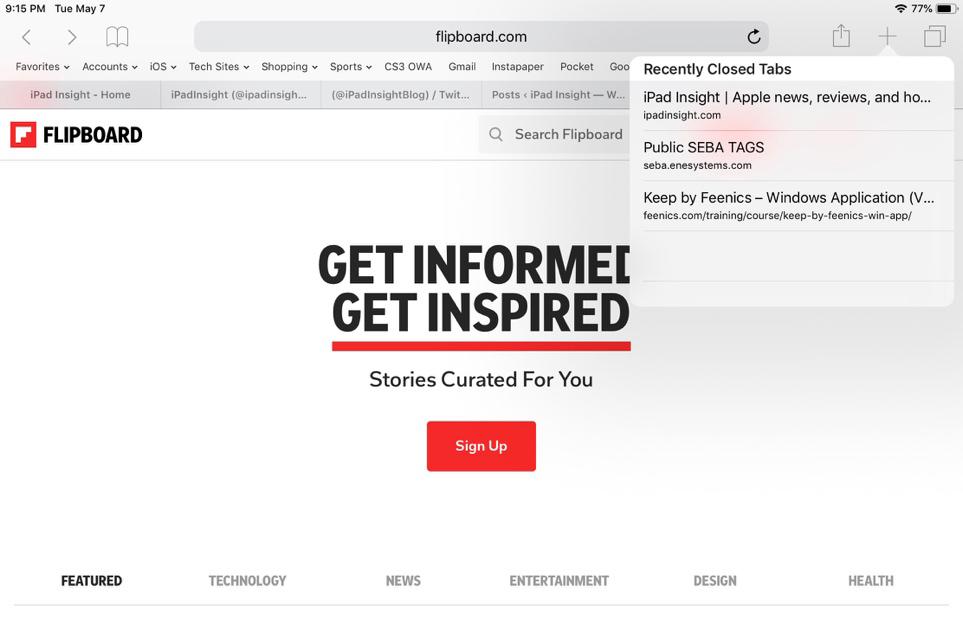 Safari,trình duyệt,thủ thuật iPhone,thủ thuật iPad