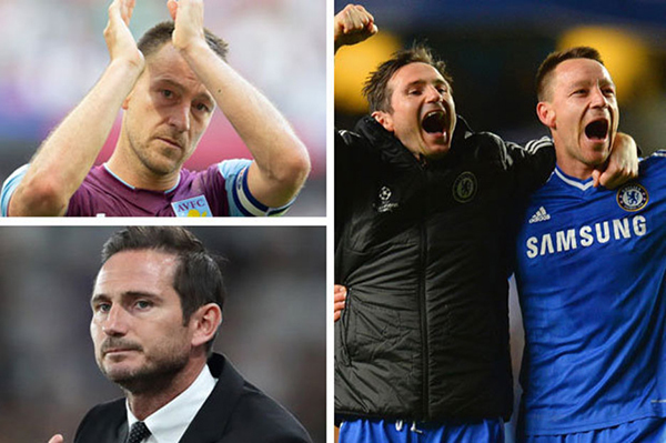 Frank Lampard,John Terry,Aston Villa,Derby County
