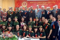 Vietnamese war veterans' association in Ukraine holds 2nd congress