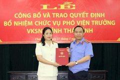 Thanh tra Chính phủ, VKSNDTC bổ nhiệm nhân sự mới