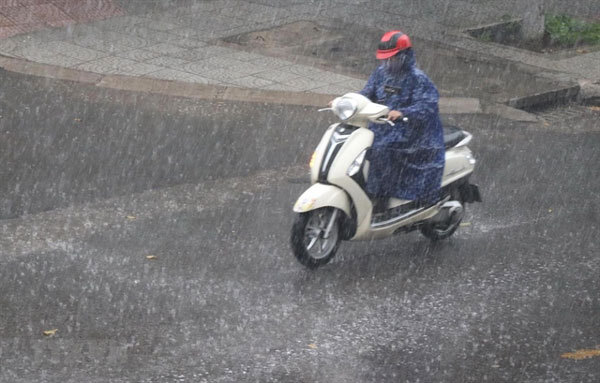 Heavy rains forecast to hit northern localities