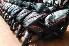 Hết thời đỉnh cao, thị trường xe máy vào kỳ ảm đạm