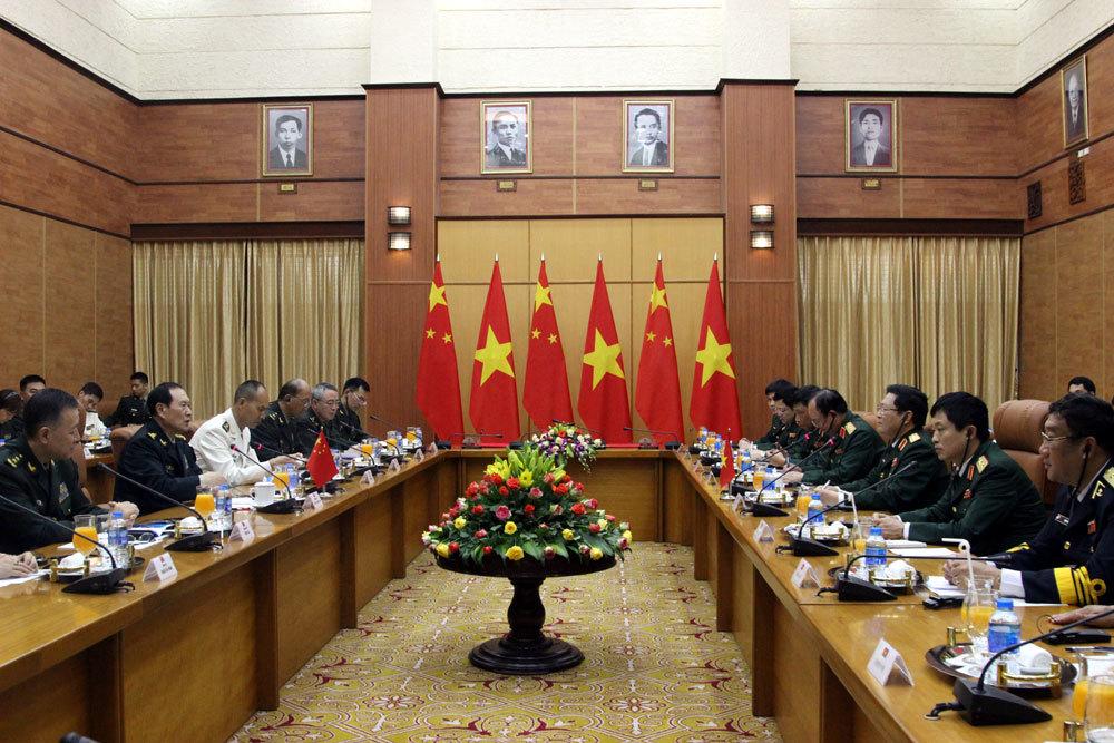 Ngô Xuân Lịch,Bộ trưởng Quốc phòng,Biển Đông,chủ quyền