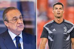 Chủ tịch Real Madrid thốt lời, Ronaldo ngậm đắng nuốt cay