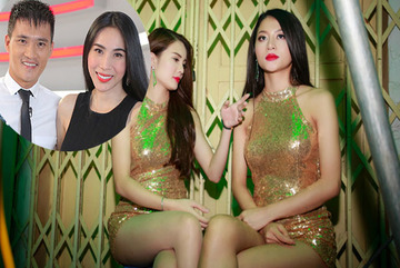 2 cô em nuôi nóng bỏng của Công Vinh, Hồ Quang Hiếu
