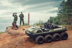 Tinger Armor - Chiếc ATV chấp mọi địa hình trên cạn, dưới nước