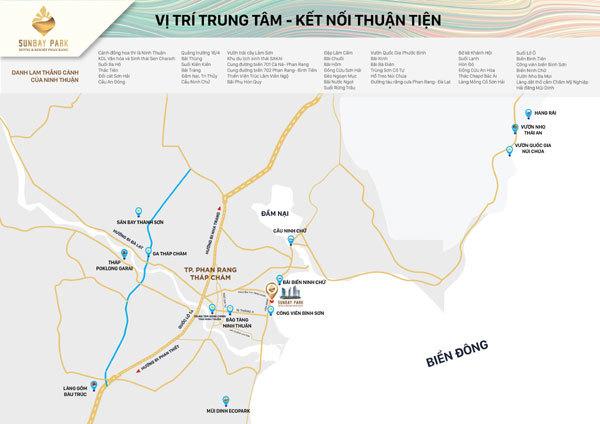 SunBay Park Hotel & Resort Phan Rang - vị trí 'kim cương' giữa sa thảo Ninh Thuận