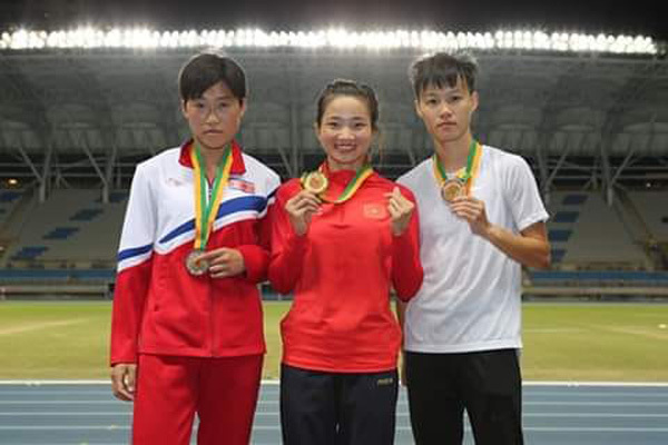 Vietnamese athletes win golds, set records at Taiwan Open Athletics Championships 2019