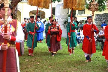 Traditional celebration of Doan Ngo festival reproduced