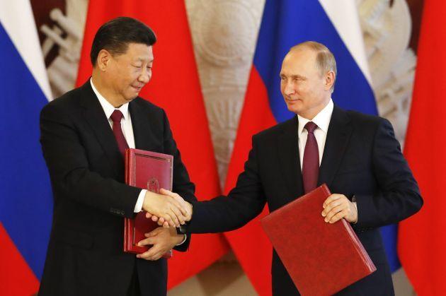 Trung Quốc muốn Nga giúp sức 'đấu' với Mỹ