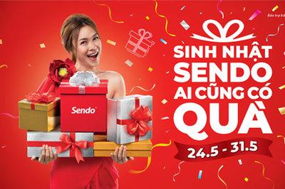 Sinh nhật 7 năm Sendo, giảm giá đến 77%