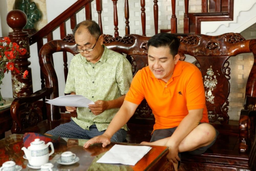 Sau 2 tháng, NSƯT Việt Anh xúc động kể về học trò quá cố Anh Vũ