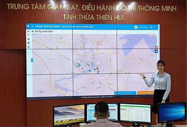 Thừa Thiên Huế- thành phố thông minh, an ninh với camera nhận diện khuôn mặt
