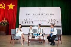Hoa hậu Ngọc Diễm: 'Sách quý tạo nền tảng vững chắc cho tương lai'