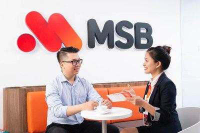 MSB cộng thêm lãi suất cho gói sản phẩm tiết kiệm và bảo hiểm