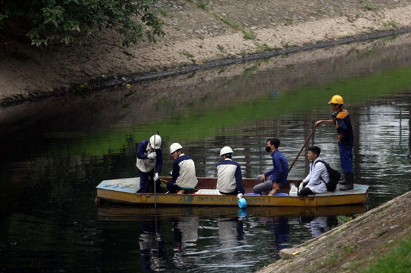 Will Japanese technology keep To Lich River clean in the long term?