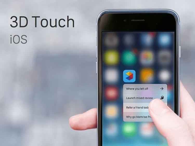 Apple khai tử công nghệ 3D Touch?