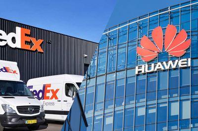 FedEx xin lỗi Huawei vì sự cố 'xử lý nhầm' bưu kiện khẩn