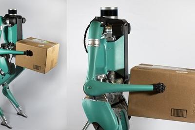 Ford thử nghiệm robot giao hàng tự hành như người