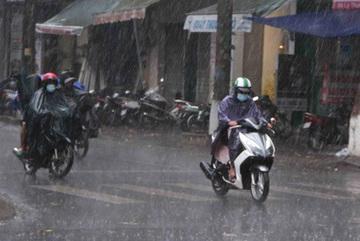Dự báo thời tiết 29/5: Hà Nội mưa dông, đề phòng lốc sét
