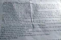 Cán bộ Sở Giáo dục Bình Thuận làm lộ đề kiểm tra học kỳ