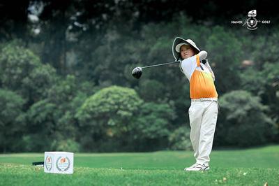 Quang Trí giành Best Gross vòng 3 Hanoi Junior Golf Tour 2019