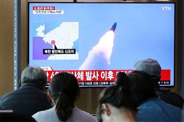 Triều Tiên,Hàn Quốc,Mỹ,tên lửa