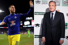 Hazard về Real giá 115 triệu bảng, lương tăng gấp đôi