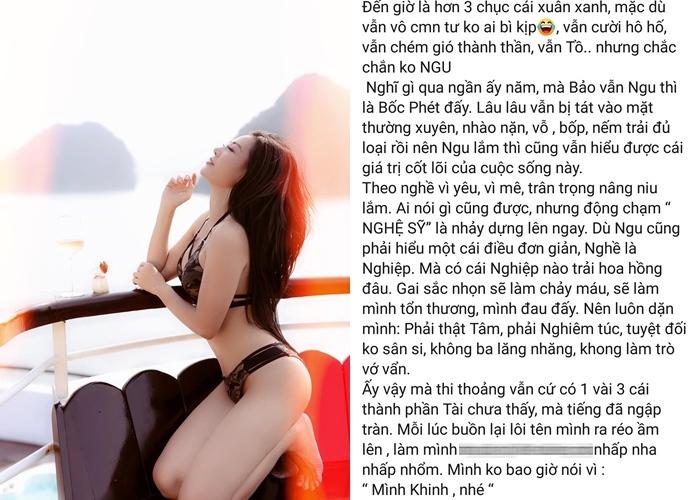 Thanh Hương: 'Cười hô hố, chém gió thành thần nhưng không ngu'