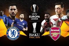 Xem chung kết Europa League Arsenal vs Chelsea ở đâu?
