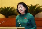 Bà Đặng Thị Ngọc Thịnh thay mặt Chủ tịch nước Nguyễn Phú Trọng trình Công ước 98