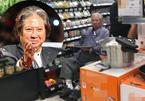 Siêu sao võ thuật Hồng Kim Bảo tiều tụy, ngồi xe lăn đi siêu thị