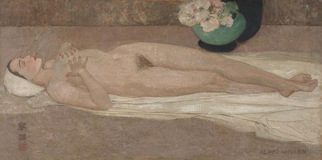 Bí ẩn tỷ phú bỏ 1,4 triệu USD mua bức tranh Nude của Lê Phổ