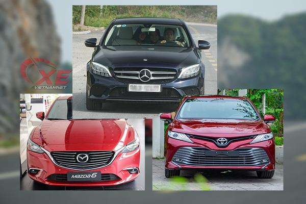 Trên 1 tỷ, chọn Mercedes-Benz C200, Camry hay Mazda6?