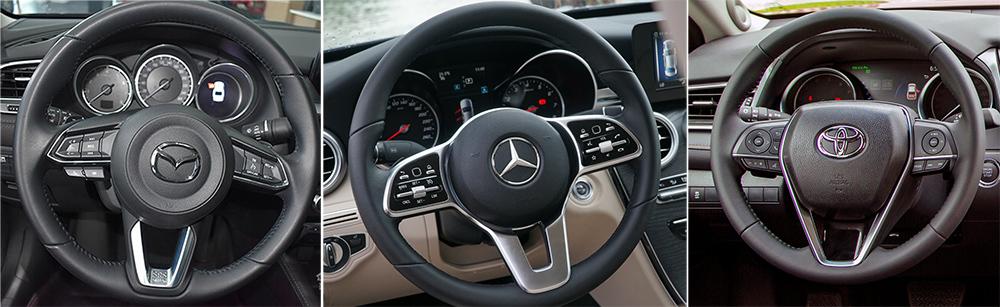 Mercedes-Benz C200,Toyota Camry 2.5Q,Mazda6,chon xe cỡ D,chọn xe trên 1 tỷ,chọn sedan trên 1 tỷ
