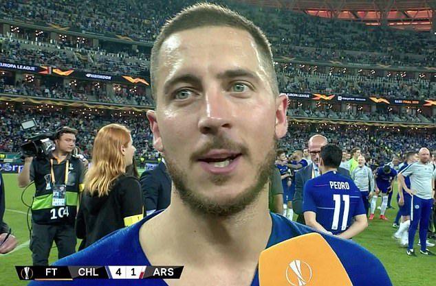 Hazard nói lời tạm biệt sau khi đưa Chelsea 'lên đỉnh'