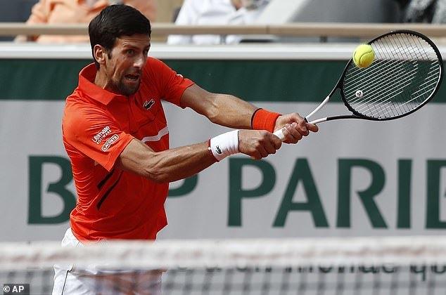 Roland Garros 2019: Djokovic 'tốc hành' vào vòng 4