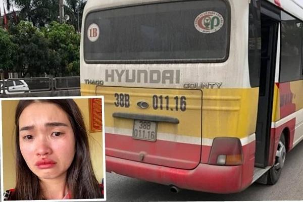 Nữ hành khách bị chủ xe ở Hà Tĩnh đánh chảy máu mũi rút đơn