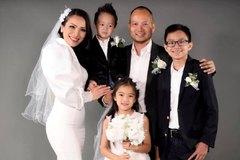 Hồng Ngọc kỷ niệm 10 năm ngày cưới bên chồng và con